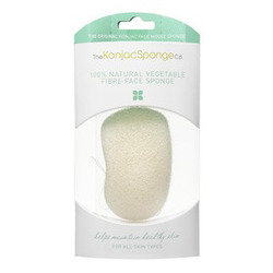 The Konjac Sponge Company Premium Face Mouse Sponge Pure - Спонж для умывания лица