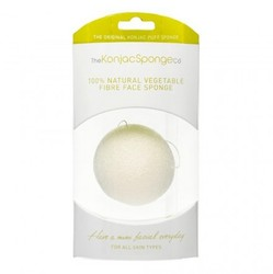 The Konjac Sponge Company Premium Facial Puff Pure White - Спонж для умывания лица