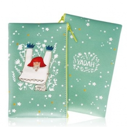 Yadah Cosmetic Pouch Flat Blue - Косметичка