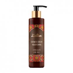 Zeitun Chocolate and Milk Nourishing Shower Cream - Крем для душа с шоколадом и молоком, 250 мл