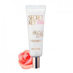 Secret Key Starting Treatment Eye Cream (Rose Edition) - Крем для глаз антивозрастной с эффектом осветления и розовой водой, 30 мл