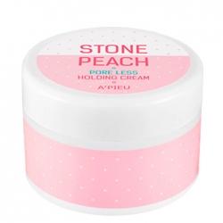 A'Pieu Stone Peach Pore Less Holding Cream - Крем для сужения пор на лице, 50мл