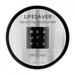 Beautific Lifesaver Repairing Moisturizer - Мужской крем для сухой кожи, 55 мл