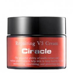 Ciracle Repairing V3 Cream - Крем для лица Восстанавливающий с антивозрастным эффектом 50 мл