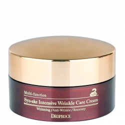 Deoproce Synake Intensive Wrinkle Care Cream - Крем для лица со змеиным ядом, 100 г