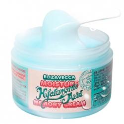 Elizavecca Moisture Hyaluronic Acid Memory Cream - Крем для лица увлажняющий гиалуроновый, 100 мл