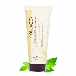 Esthetic House Collagen Herb Complex Cream - Крем с коллагеном и растительным комплексом, 180 мл