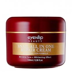 Eyenlip Snail All in One Repair Cream - Крем для лица улиточный, 100 мл