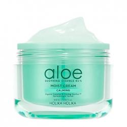 Holika Holika Aloe Soothing Essence 80% Moist Cream - Успокаивающий увлажняющий крем с алоэ вера, 100 мл