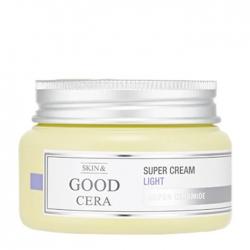 Holika Holika Skin & Good Cera Super Cream Light - Крем для лица Облегченный увлажняющий с керамидами, 60 мл