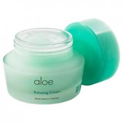 It's Skin Aloe Relaxing Cream - Крем для лица с экстрактом сока алоэ вера, 50 мл
