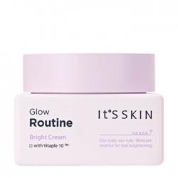 It's Skin Glow Routine Bright Cream - Крем для выравнивания тона на основе комплекса витаминов, 50 мл