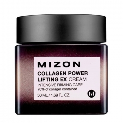 Mizon Collagen Lifting EX Cream - Крем Лифтинг для кожи лица с коллагеном, 50 мл