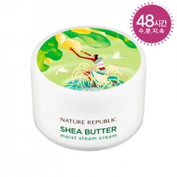 Nature Republic Shea Butter Moist Steam Cream - Крем для лица паровой  с маслом ши, 100мл