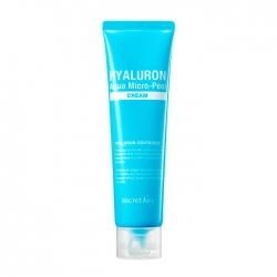 Secret Key Hyaluron Aqua Micro-Peel Cream - Крем для лица с гиалуроновой кислотой и эффектом микропилинга, 70 г