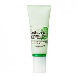 Skinfood Premium Lettuce&Cucumber Water Cream - Крем-гель увлажняющий с экстрактом огурца и салата, 50 г