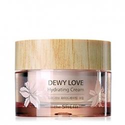 The Saem Dewy Love Hydrating Cream - Крем для лица с розовым цветочным комплексом Ультра увлажняющий, 50 мл