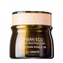 The Saem Urban Eco Harakeke Root Deep Cream - Глубоко увлажняющий крем с экстрактом корня новозеландского льна, 60 мл