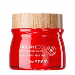 The Saem Urban Eco Waratah Light Cream - Лёгкий тонизирующий крем для лица с 68% экстрактом телопеи, 60 мл