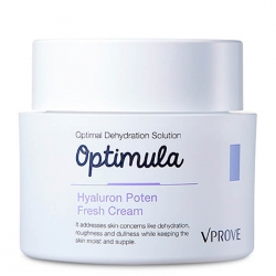 Vprove Optimula Hyaluron Poten Fresh Cream - Крем для лица Освежающий на основе гиалуроновой кислоты, 50 мл
