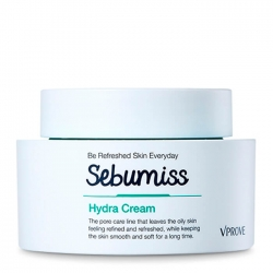 Vprove Sebumiss Hydra Cream - Крем для лица Освежающий и увлажняющий для проблемной кожи, 50 мл