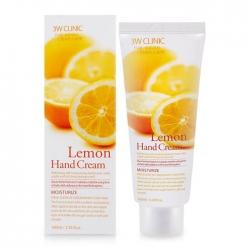 3W Clinic Lemon Hand Cream -  Крем для рук ЛИМОН, 100 мл