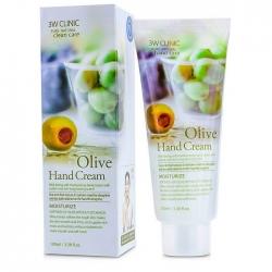 3W Clinic Olive Hand Cream - Крем для рук ОЛИВА, 100 мл