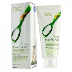 3W Clinic Snail Hand Cream - Крем для рук УЛИТОЧНЫЙ МУЦИН, 100 мл