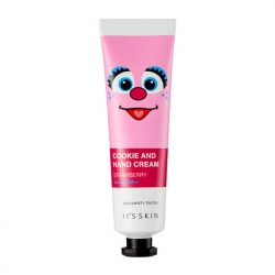 It's Skin Cookie & Hand Cream - Strawberry - Крем для рук Витаминный с ароматом клубничного печенья, 30 мл