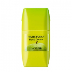 The Saem Fruits Punch Apple Hand Cream - Крем для рук яблочный пунш, 50 мл