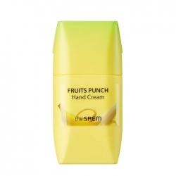 The Saem Fruits Punch Banana Hand Cream - Крем для рук банановый пунш, 50 мл