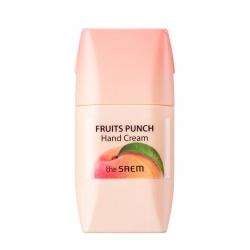 The Saem Fruits Punch Peach Hand Cream - Крем для рук персиковый пунш, 50 мл