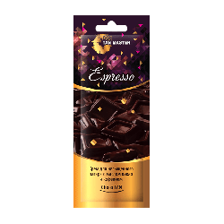 Tan Master Espresso - Крем для насыщенного стойкого загара в солярии с маслом какао и кофеином, 12мл