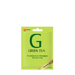 Tan Master Green Tea - Крем для загара в солярии с экстрактом зеленого чая, 15мл