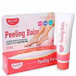 Koelf Foot Care Peeling Balm - Крем-пилинг д/ног от натоптышей и мозолей, 40 мл