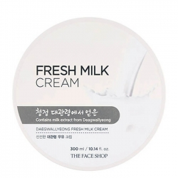 The Face Shop Fresh Milk Cream - Крем для лица и тела с экстрактом молока, 300 мл