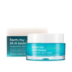 FarmStay Dr-V8 Solution Hyaluronic Acid Cream -  Крем с гиалуроновой кислотой, 50 мл