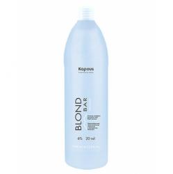 Kapous Blond Bar - Кремообразная окислительная эмульсия «Blond Cremoxon» с экстрактом Жемчуга 6%, 1000 мл