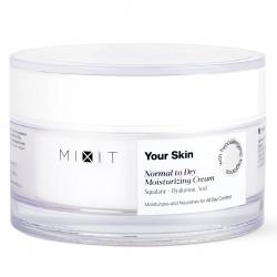 MIXIT Your Skin Normal To Dry Milkshake Moisturizing Cream - Увлажняющий крем для нормальной и склонной к сухости кожи лица, 50 мл