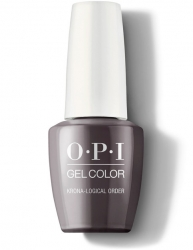 OPI Iceland Gel Color - Гель-Лак для ногтей Krona-logical Order, 15 мл
