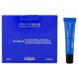 L'Oreal Pro Fiber Re-Create - Концентрат для волос, истонченных повреждениями 10 x 15 мл