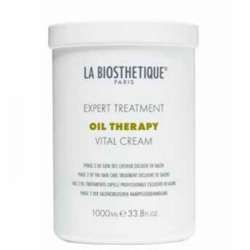 La Biosthetique Oil Therapy Vital Cream - Маска для интенсивного востановления поврежденных волос фаза 2, 1000мл