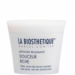 La Biosthetique Methode Relaxante Douceur Riche Creme - Обогащенный регенерирующий крем для очень сухой чувс.кожи, 50 мл