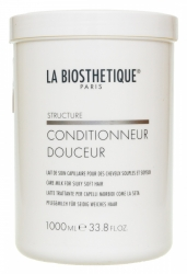 La Biosthetique Structure Conditionneur Douceur - Легкий кондиционер для придания волосам шелковистого эффекта, 1000 мл