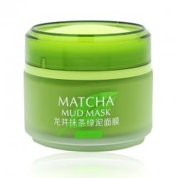 Bioaqua - Laikou Matcha Mud Mask - Очищающая грязевая маска с чаем матча, 85гр
