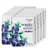 Bioaqua Wonder - Маска увлажняющая с экстрактом черники, 30 г