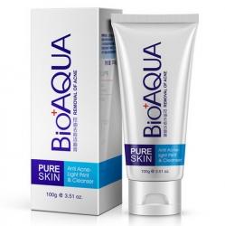 Bioaqua Pure Skin - Пенка для умывания от акне, 100 г