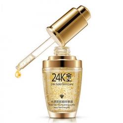 Bioaqua 24K Gold Skin Care - Сыворотка с частицами золота и гиалуроновой кислотой, 30 мл