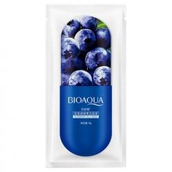 Bioaqua Blueberry Jelly Mask - Маска ночная для лица с экстрактом черники, 8 г