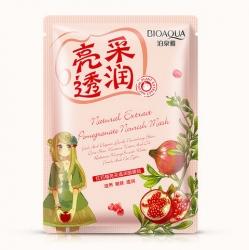 Bioaqua Natural Extract - Маска питательная с экстрактом граната, 30 г